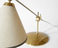 Hanson glass crackle lamps